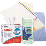 shop towels, cloths & wipes