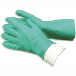 disposable nitrile powdered gloves