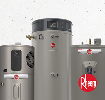 The Trusted Brand for Water Heaters