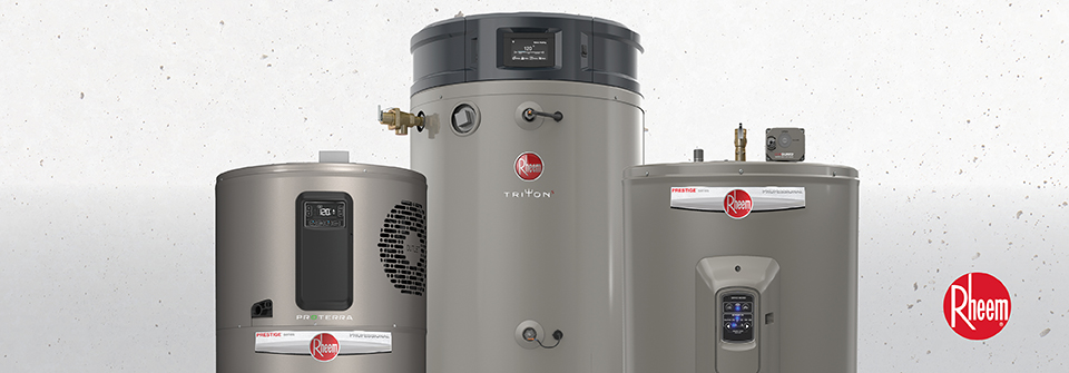 Rheem: The trusted brand of residential water heaters