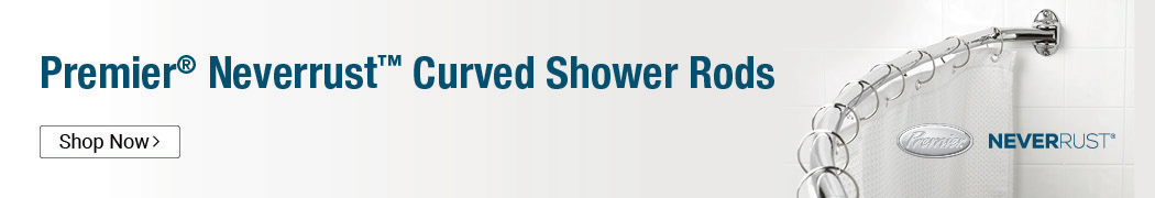 Premier NeverRust Shower Rods